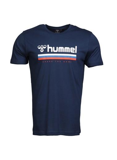 Hummel Erkek Tişört Willy 911051-7818 Lacivert